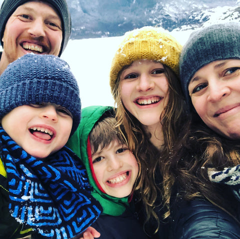 Laura and her family