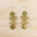 Brass Earrings No. 20
