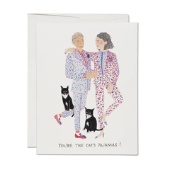 Cat's Pajamas Card at KindredPost.com