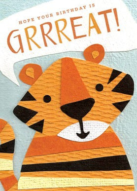 Grrreat Birthday Card