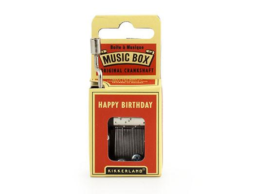 Happy Birthday Crank Music Box