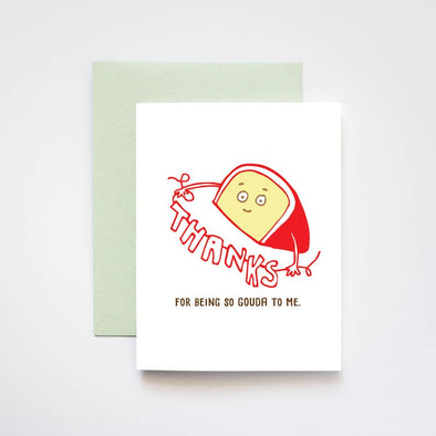 Gouda Thanks Greeting Card