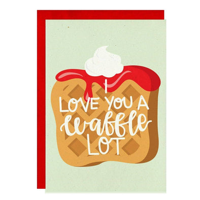 Waffle Lot Valentine's Card