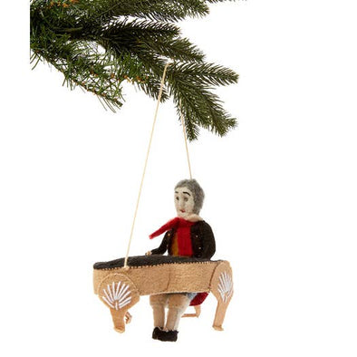 Beethoven Felt Ornament