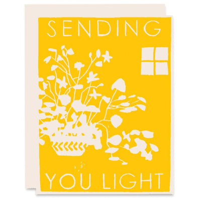 Sending Light Friendship Card