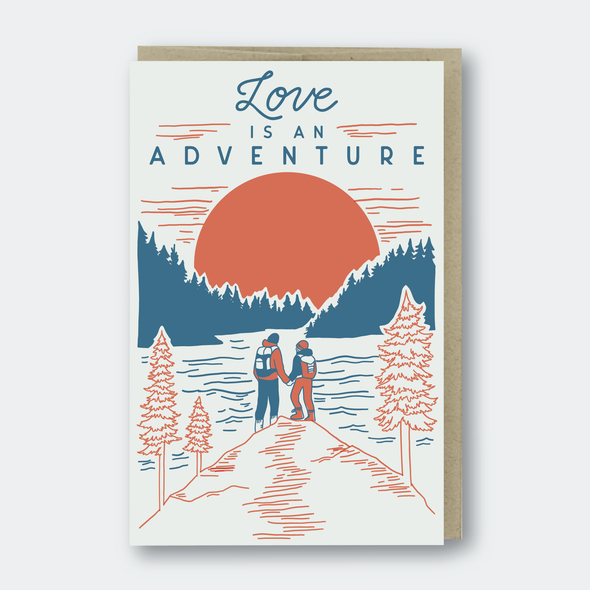 Love Is An Adventure Hikers