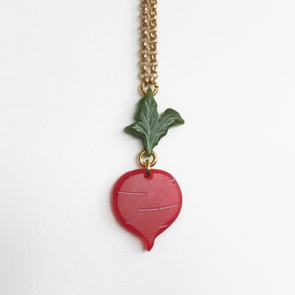 Beet Necklace