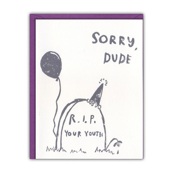 RIP Birthday Card
