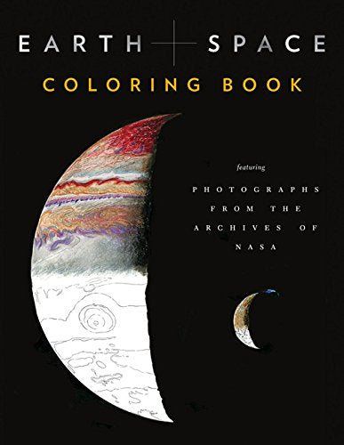 Earth and Space Coloring Book