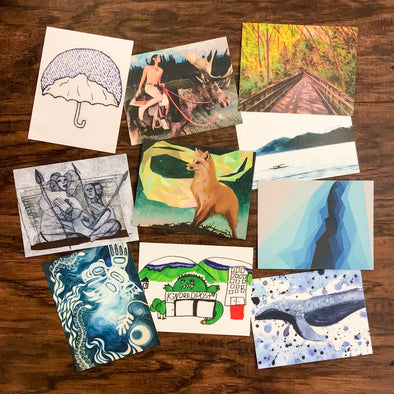 2017 Local Artist Postcard Pack