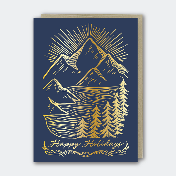 Holiday Mountainscape (Foil)