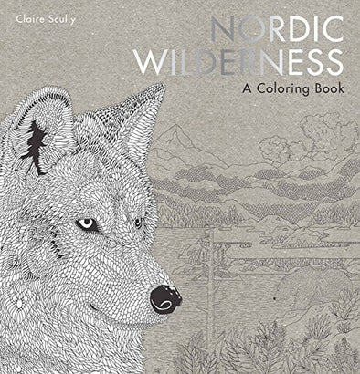 Nordic Wilderness: A Coloring Book