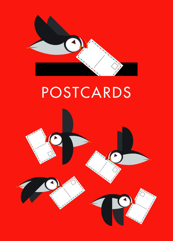 I Like Birds - a Puffinry of Postcards