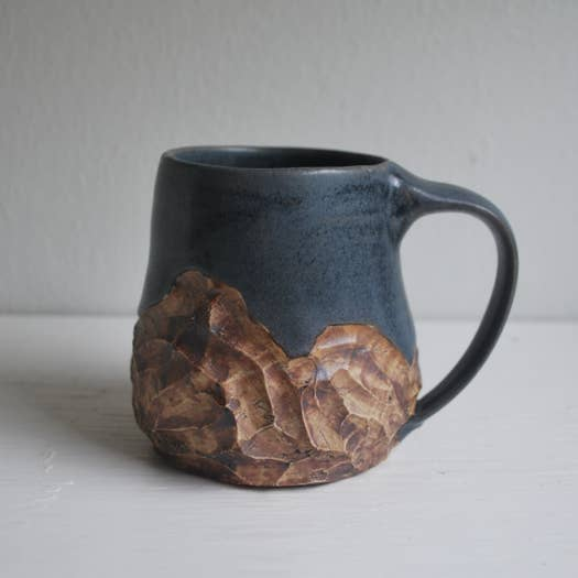 Large Blue Mountain Mug