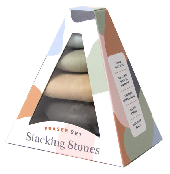 Stacking Stones: Eraser Set