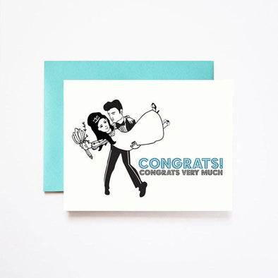 Elvis Congrats Wedding Card
