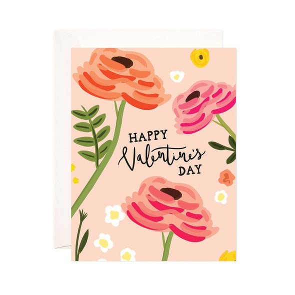 Valentine Roses Greeting Card