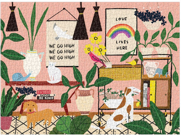 Anne Bentley Love Lives Here 1000-piece Jigsaw Puzzle