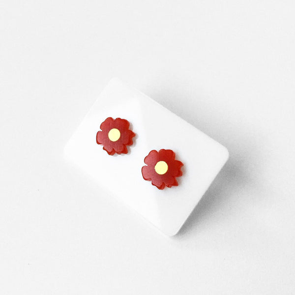 Poppy Stud Earrings