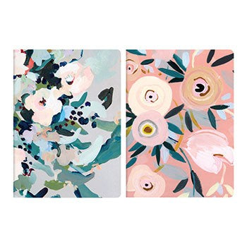 Painted Petals Notebook Set