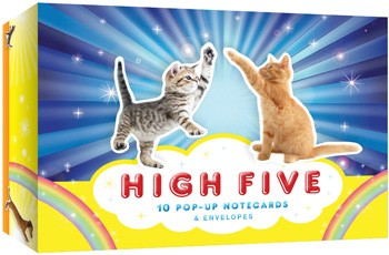 High Five Pop-Up Notecards