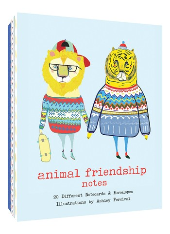 Animal Friendship Notecards