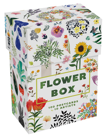 Flower Box: 100 Postcards