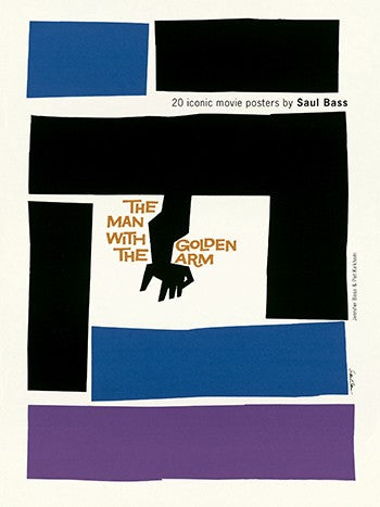 20 Iconic Film Posters by Saul Bass