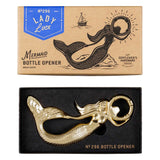Mermaid Bottle Opener Brass Coated