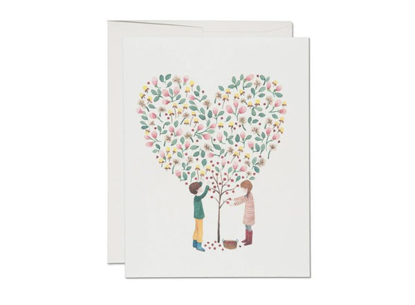 Apple Tree Love Card