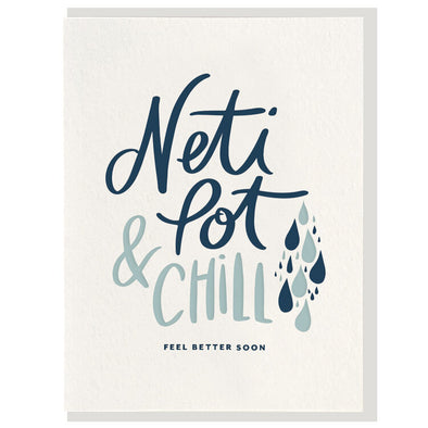 Neti Pot & Chill Card