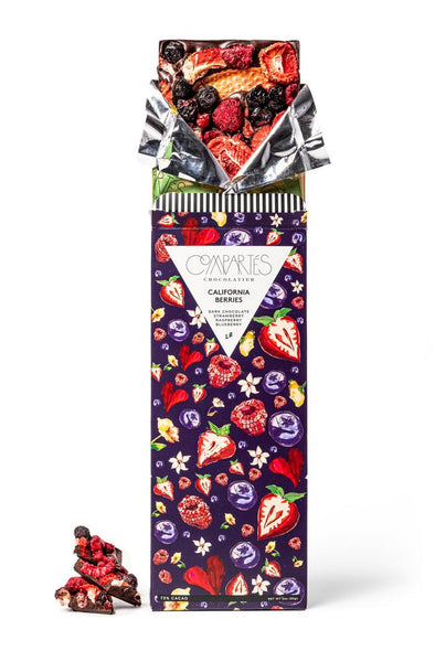 California Berries Dark Chocolate Bar