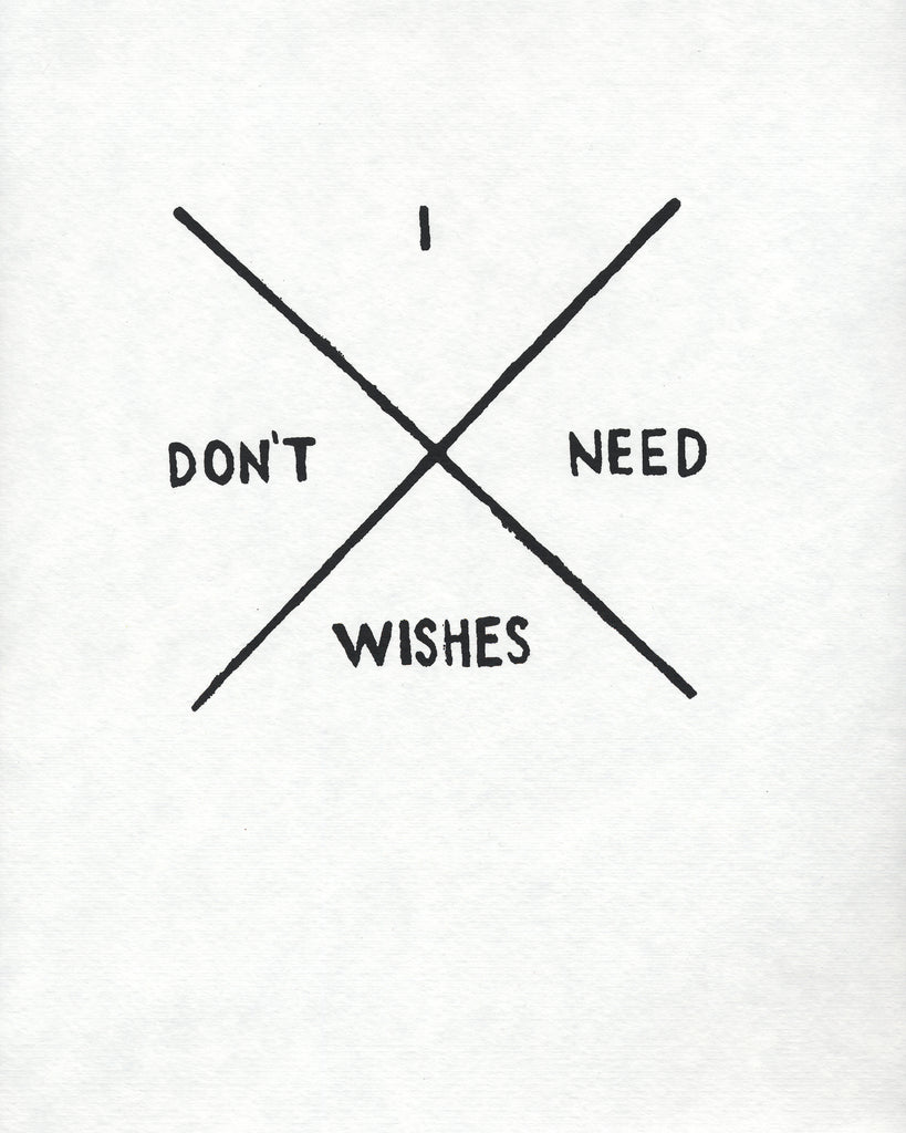 I Don't Need Wishes