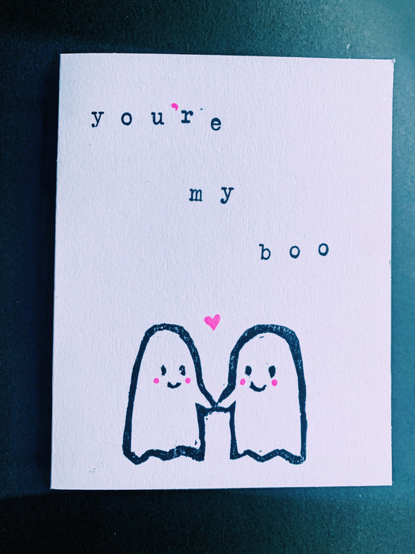 You're My Boo Card