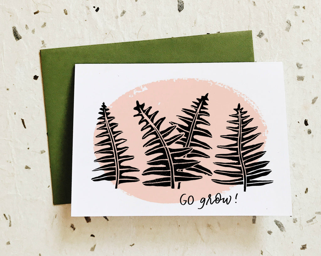 Go Grow! Card