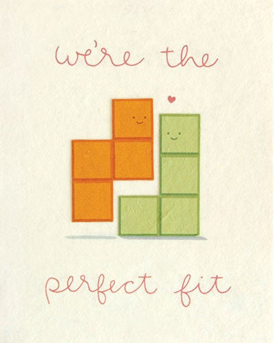 Perfect Fit Blocks Card
