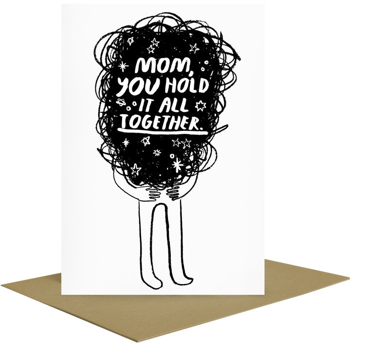 Hold It All Together Mother's Day Letterpress Card