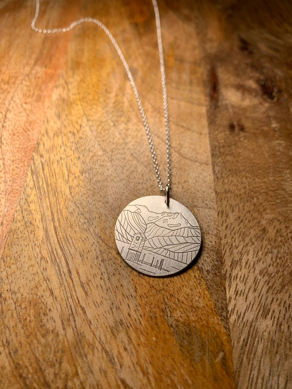 Sandy Beach: Pump House Necklace