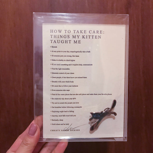 How To Take Care (Pin + Poem Pack)