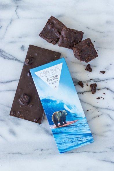 California Dreaming Brownie Chocolate Bar