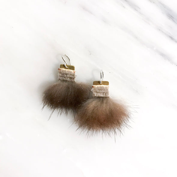 Flow Sea Otter Earrings