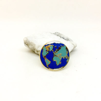 Planet Earth Pin