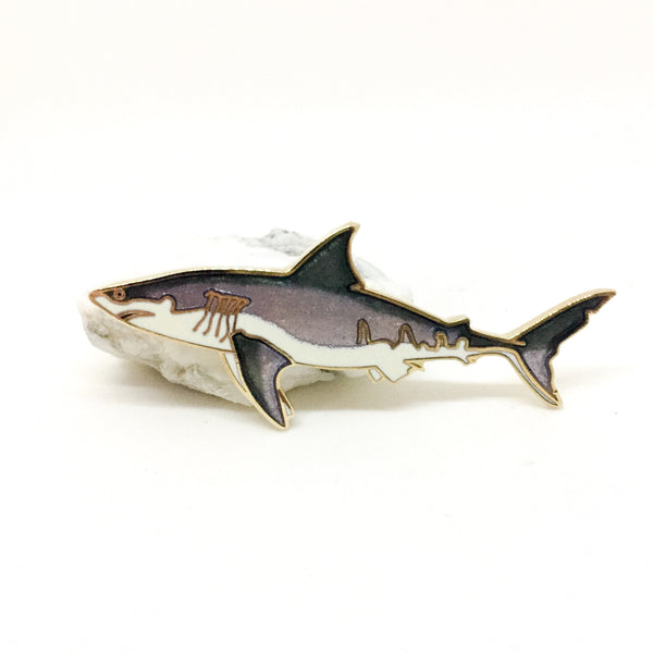 Great White Shark Pin