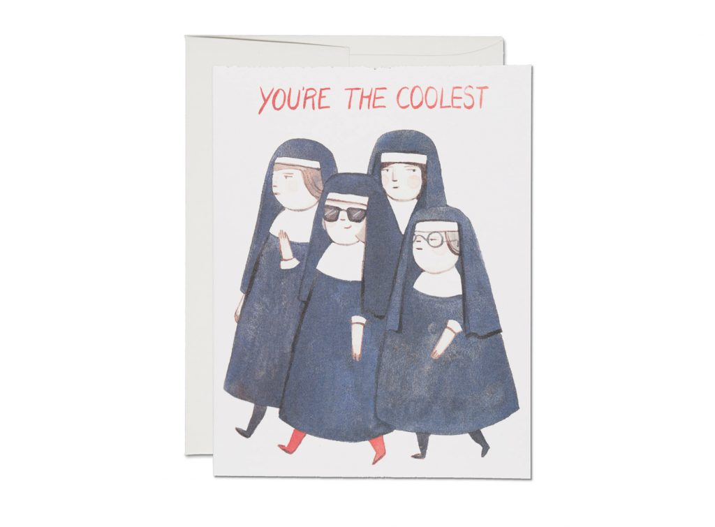 Nuns Friendship Card