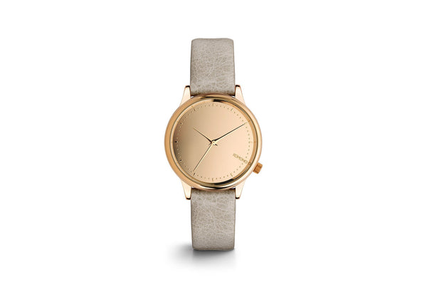 Estelle Watch: Rose Gold/Grey Mirror