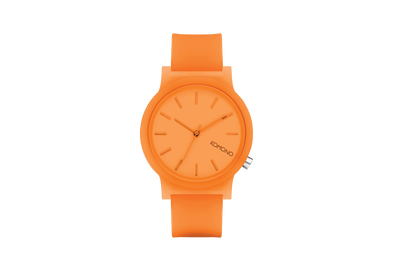 Mono Neon Orange Glow Watch