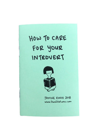 How To Care For Your Introvert Zine
