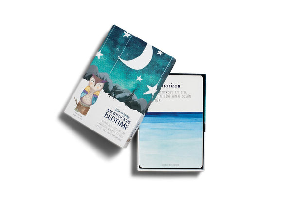 Mindful Kids Bedtime Card Set