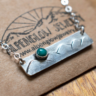 Chilkat Mountains Bar Necklace