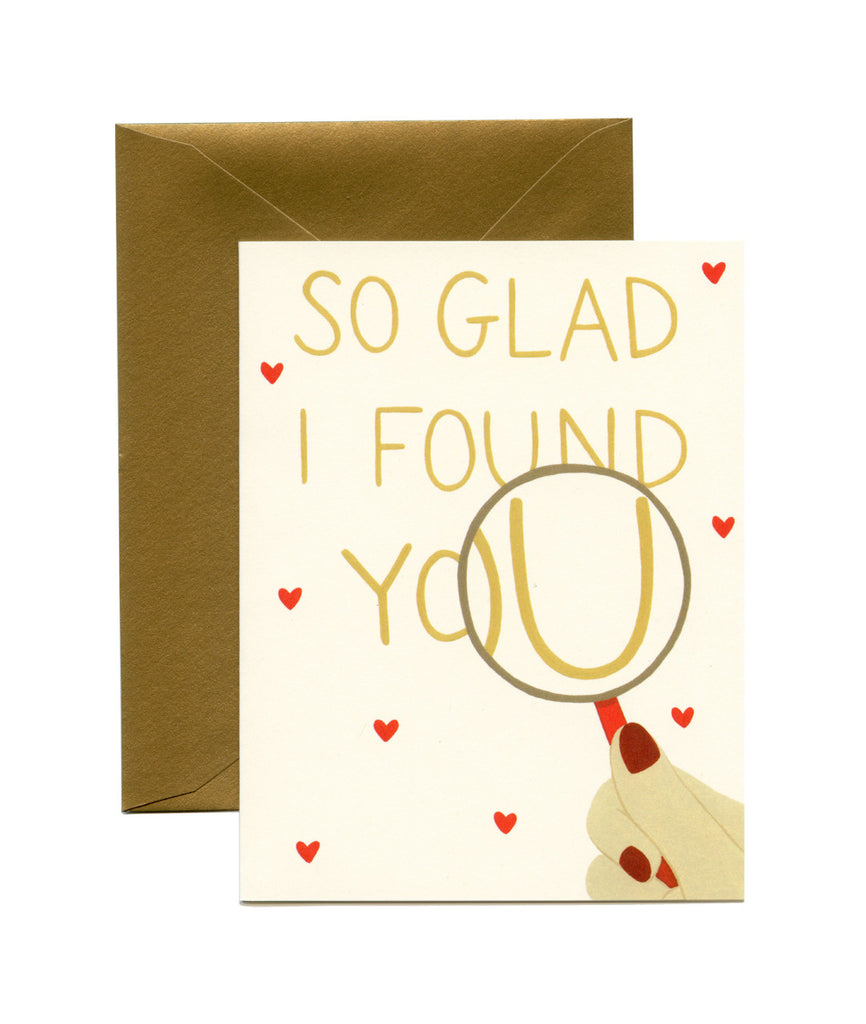 Magnified Love Card